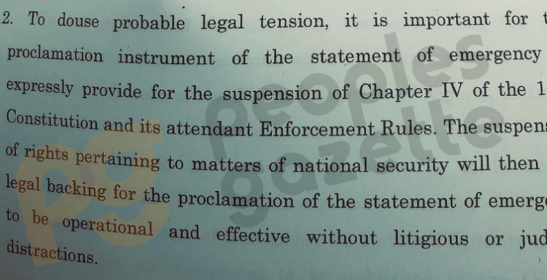 AGF Malami Asks President Buhari To Suspend Nigerian Constitution, Declare Martial Law 2