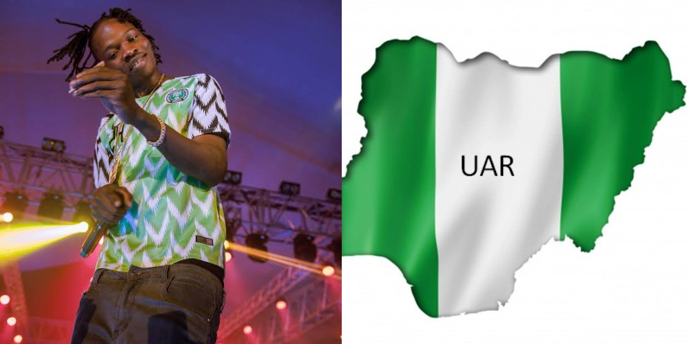 """""""I'll Sing New National Anthem For UAR"""" - Naira Marley Reacts To Proposed Nigeria Name Change 1"""