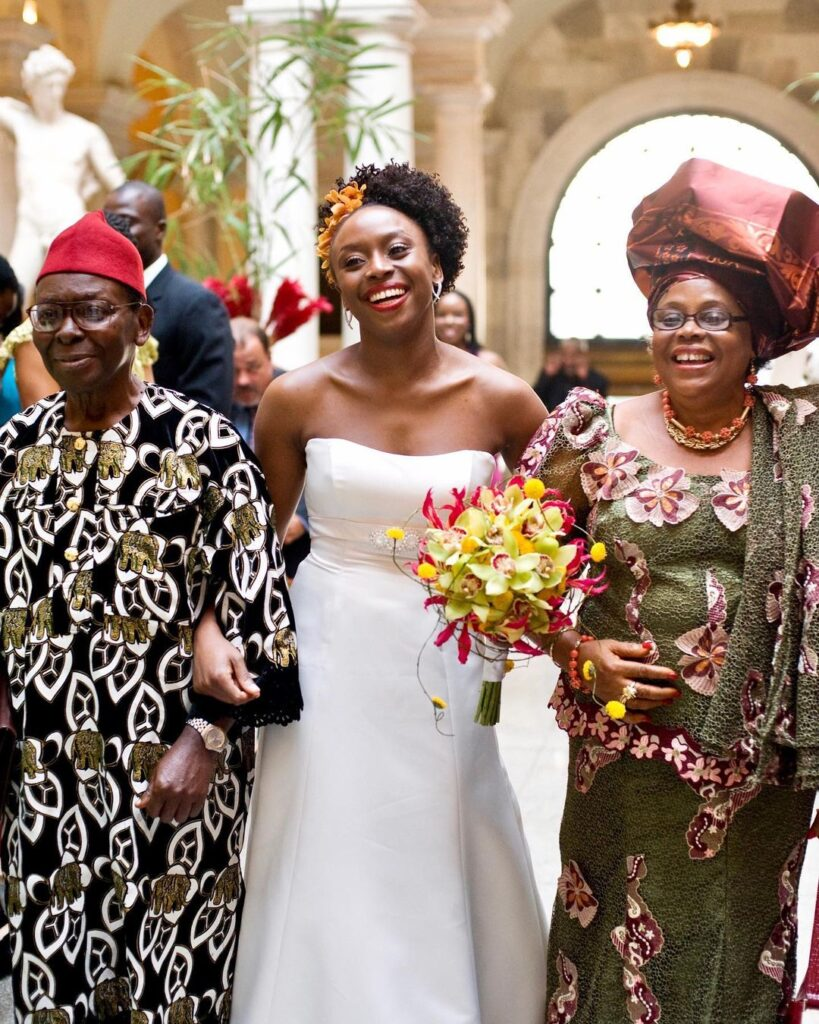 Renowned Writer / Feminist - Chimamanda Adichie Shares An Interesting View About Convention and Western Marriage Traditions. 1