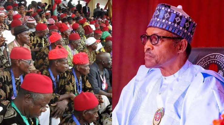 """""""Tender Unreserved Apology To Ndigbo Over Your Genocide Threat"""" - Ohanaeze Tells Buhari 1"""