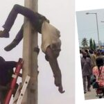 PHCN Staff Electrocuted To Death While Disconnecting Electricity In Lagos [Video] 27