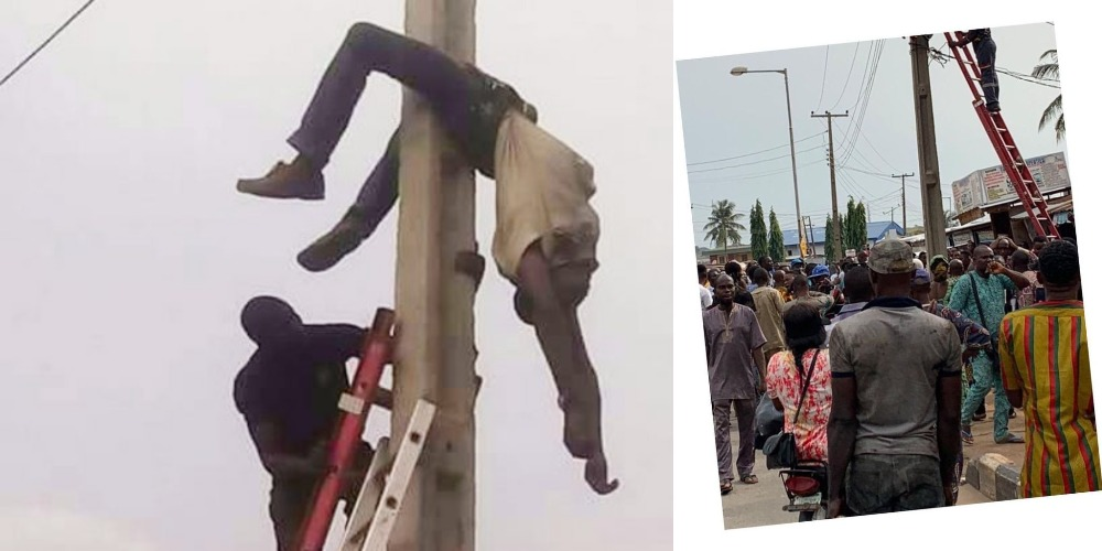 PHCN Staff Electrocuted To Death While Disconnecting Electricity In Lagos [Video] 1