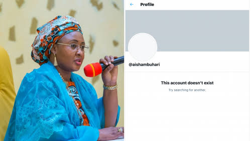 """""""Long Live Nigeria"""" - First Lady Aisha Buhari Says As She Deactivates Her Twitter Account 1"""