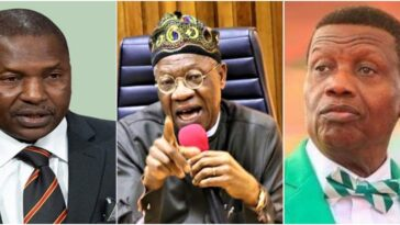 AGF Malami Will Prosecute Pastor Adeboye, Others Who Defied Twitter Ban - Lai Mohammed 3
