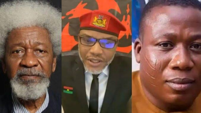 Biafra And Oduduwa Republics' Agitators Have Rights To Call For Secession - Wole Soyinka 1