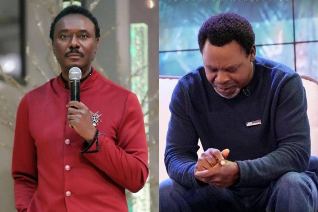Rev Chris Okotie Mocks Death Of Prophet TB Joshua, Describes Him As 'Wizard Of Endor' 1