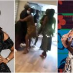 """""""Your Ny*sh Is The Dirtiest In This Industry"""" - Tiwa Savage And Seyi Shay Fights Dirty At Lagos Salon [Video] 29"""
