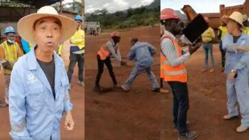 Chinese Miner Attacks Sierra Leonean Man On Mining Site In Sierra Leone [Video] 8