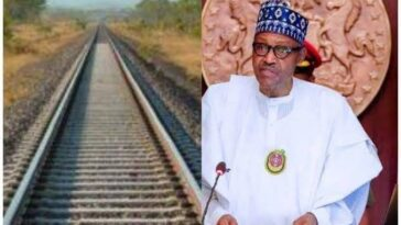 """""""I Have Family Members There"""" - Buhari Defends $1.9bn Railway Project To Niger Republic 12"""