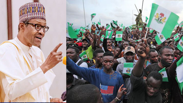 """""""Behave Well If You Want Jobs"""" - President Buhari Tells Nigerian Youths 1"""