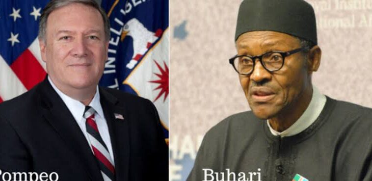 Mike Pompeo Slams Buhari Over Killing Of 1,500 Christians Within Six Months In Nigeria 3