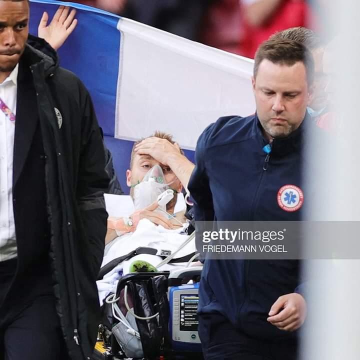 Christian Eriksen collapses in Denmark vs Finland match 4