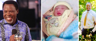 Nigerians claim TB Joshua is back as daughter gives birth on his birthday 24