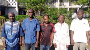 Police Arrest Five Gay Suspects For Gang-Rαping 20-Year-Old Man In Kano