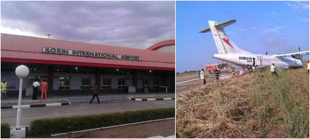 Passengers Escapes Death As Air Peace Plane Crashes At Ilorin Airport