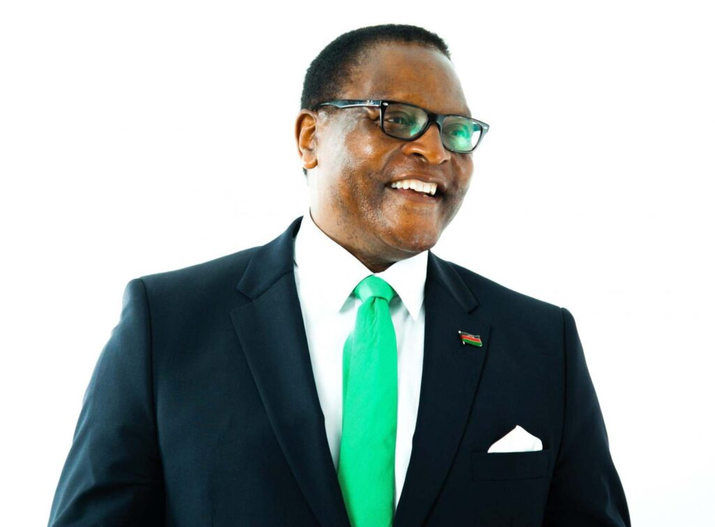 Malawi president travels to the UK for virtual conference, blames poor internet speed in his country 1