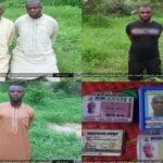 Boko Haram Releases Pictures Of Abducted Soldiers, Yobe Protocol Officers