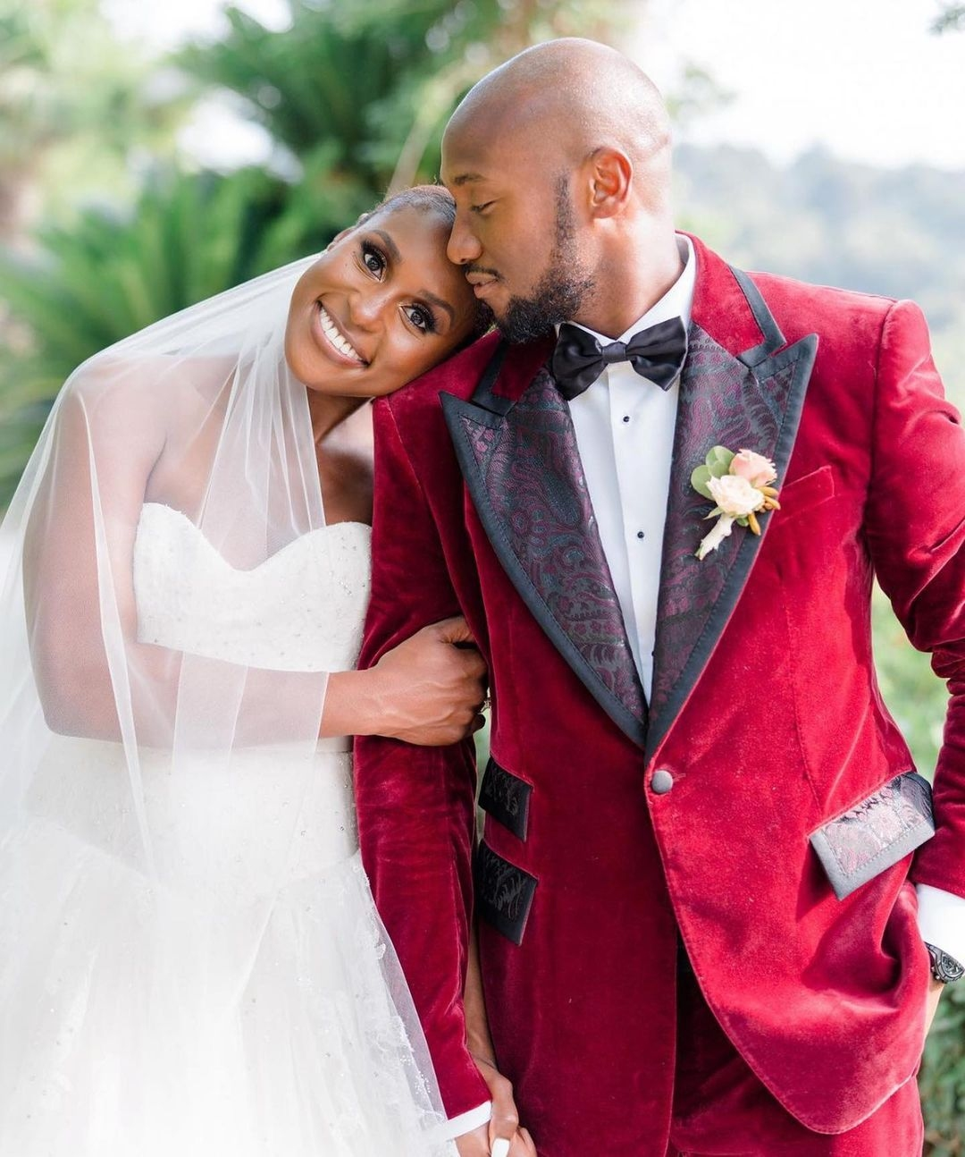 American Actress Issa Rae marries Businessman Louis Diame in intimate ceremony 5
