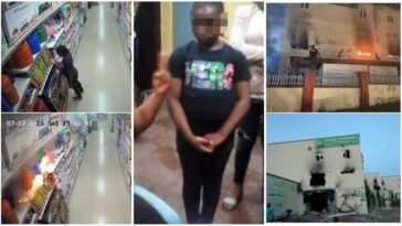 How 9-Year-Old Girl 'Deliberately' Burnt Down Ebeano Supermarket In Abuja [Video]