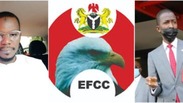 EFCC Reacts As Man Begs Them For Money, Saying 'He Don't Want To Be A Bad Boy'