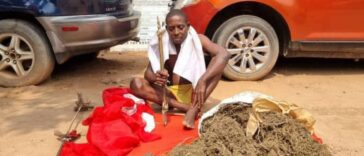 Police Arrest Alleged 'ESN Native Doctor' With IED, Charms In Imo Shrine