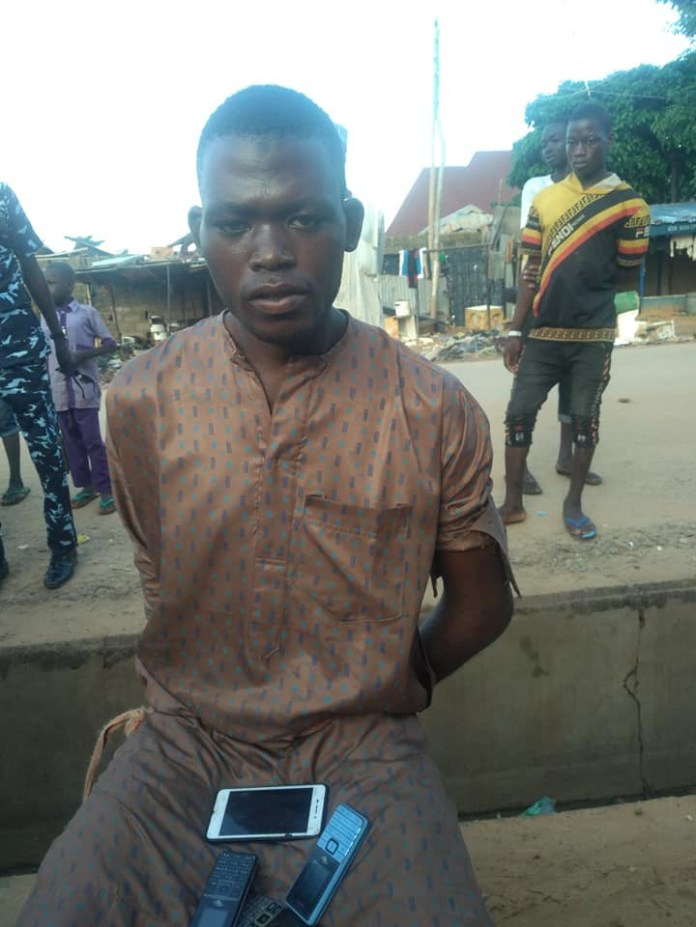 Phone Thief Caught After He Fell Asleep While Robbing A Kebbi Mosque [Photos] 5
