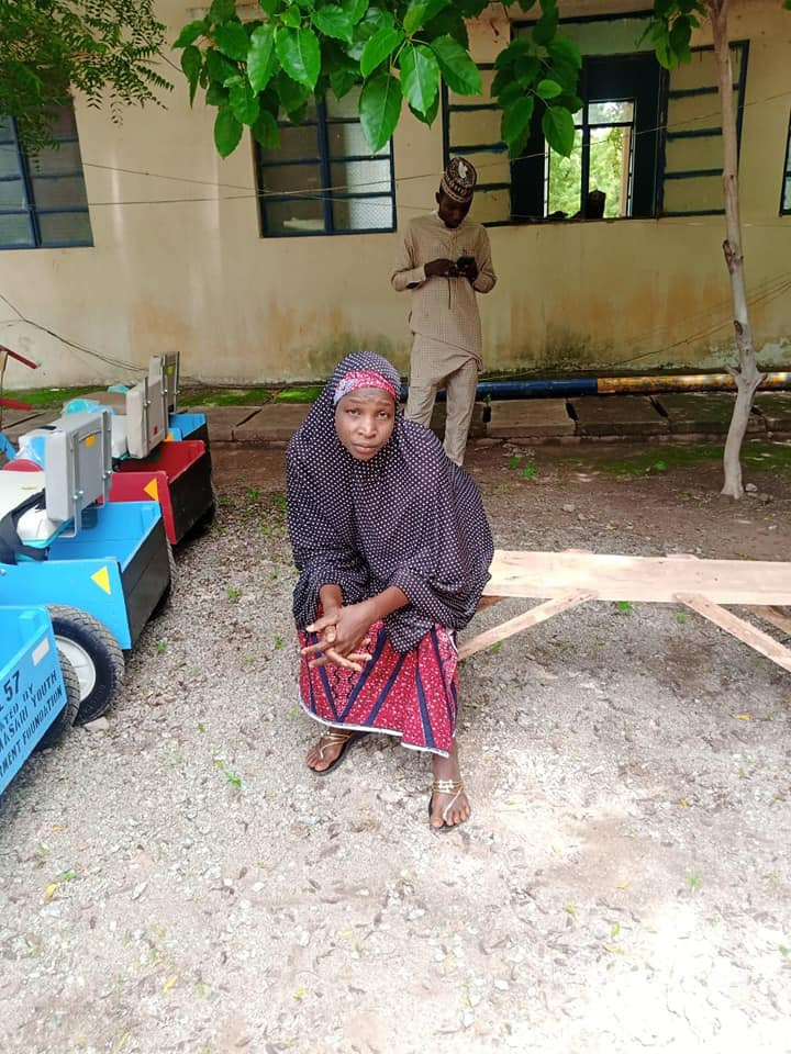 """Police Arrests Wife Of """"Notorious Bandit' With ₦2.4 Million In Katsina [Photos]"""