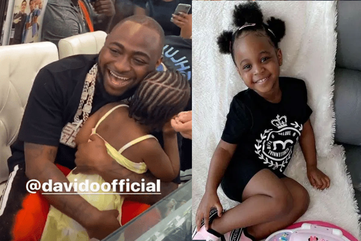 Davido Shares Funny Conversation He Had With His 4-Year-Old Daughter, Hailey