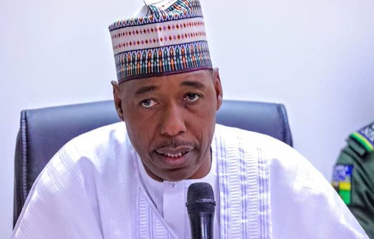 Zulum Orders Probe As Borno Task Force Demolish Church, Kill 2 Worshippers