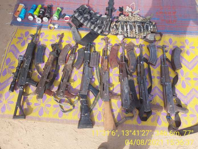 56 More Boko Haram Terrorists And Thier Families Surrender To Nigerian Army 2