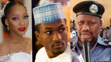 Hisbah Police Slams Yusuf Buhari's Fiancée Over Her Bridal Shower Gown