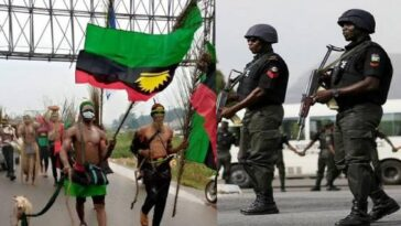 Many Killed As Police Clashes With IPOB/ESN After Invading Their Camp In Imo