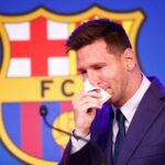 Lionel Messi Tearfully Bids Farewell To Barcelona, Announces Next 'Possible' Club