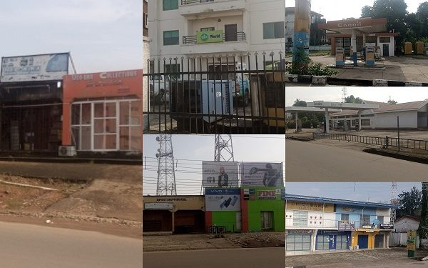 Businesses Shutdown In Ebonyi As Residents Obey IPOB Sit-At-Home Order [Photos]