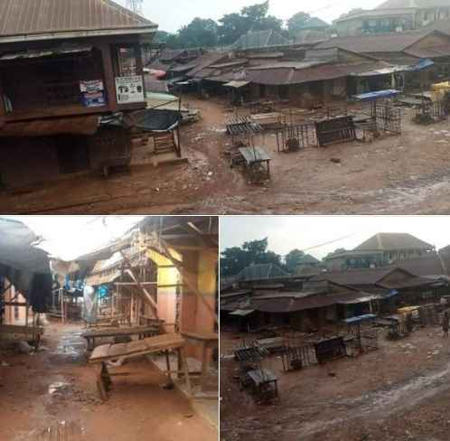 Businesses Shutdown In Ebonyi As Residents Obey IPOB Sit-At-Home Order [Photos] 1