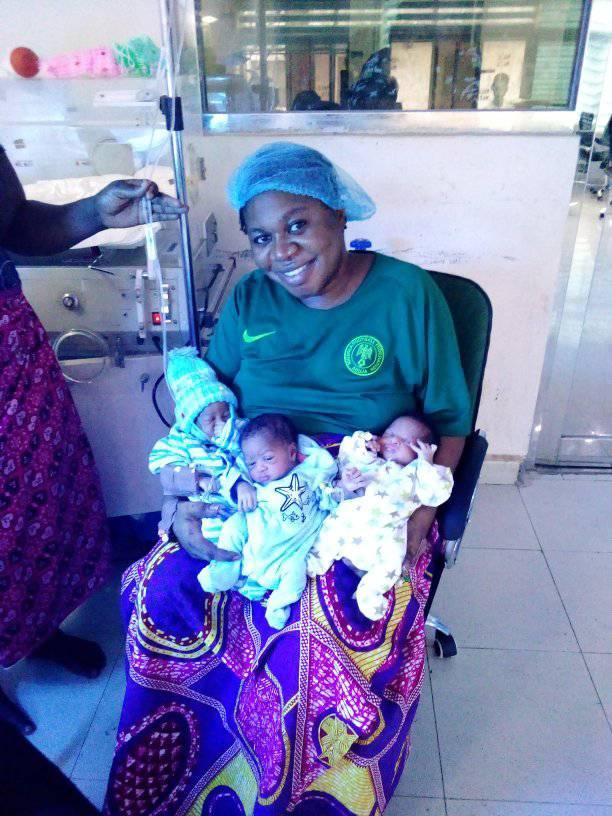 Woman Gives Birth To Triplets 'After 9 Years Of Name-Calling And Insults' [Photos] 11