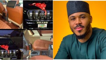 BBNaija's Ozo Receives Brand New SUV From Fans For His Birthday [Photos/Video]