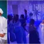 "Buhari's Daughter Sings ""Shebi Na National Budget"" At Brother's Wedding [Video]"