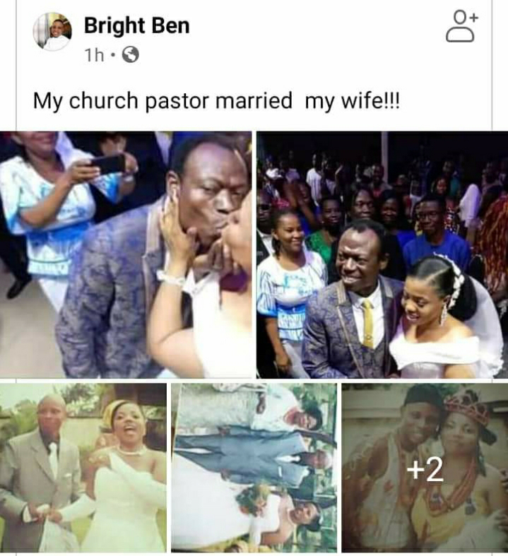 Nigerian Man Cries Out After Pastor Married His Wife On Instruction Of 'Holy Spirit' 2