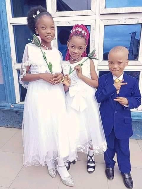 Bright and Tina's children