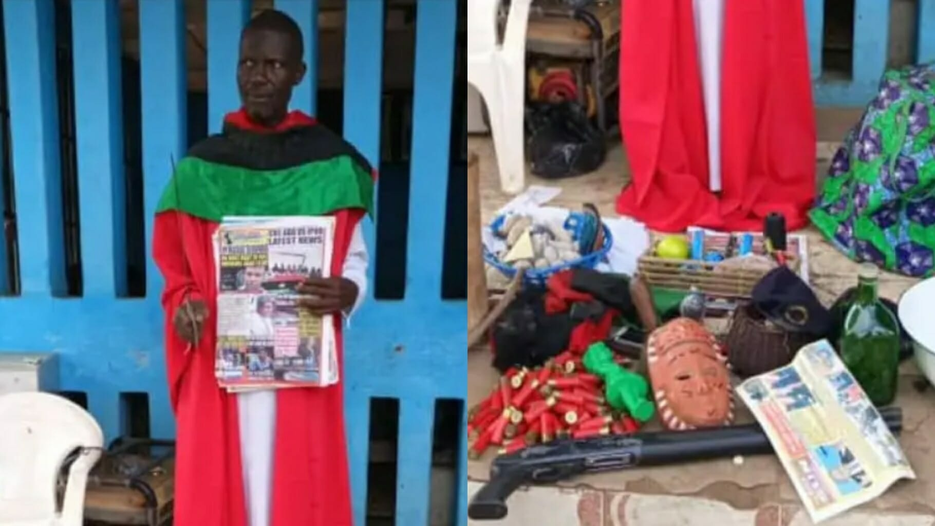 Police Arrests Suspected Chief Priest Who Fortifies IPOB, ESN Members In Imo