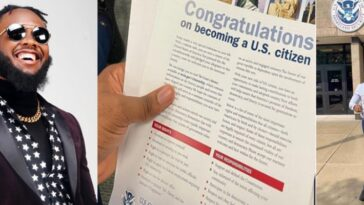 Popular Nigerian Comedian, Chief Obi Rejoices As He Becomes US Citizen [Video]
