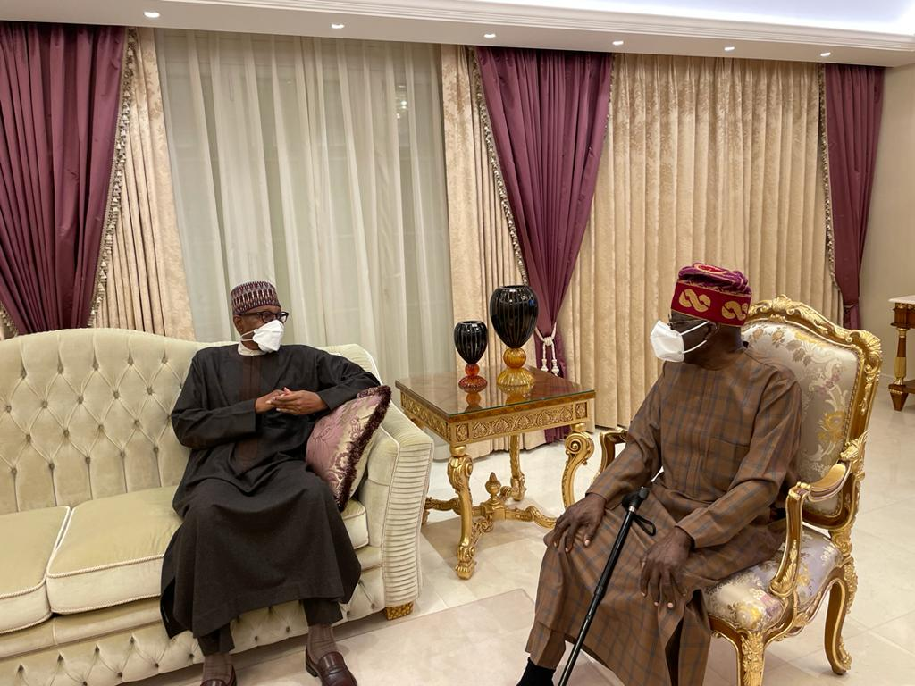 President Buhari Visits Tinubu In London After Undergoing Second Surgery