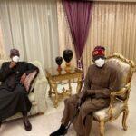 President Buhari Visits Tinubu In London After Undergoing Second Surgery [Photos]