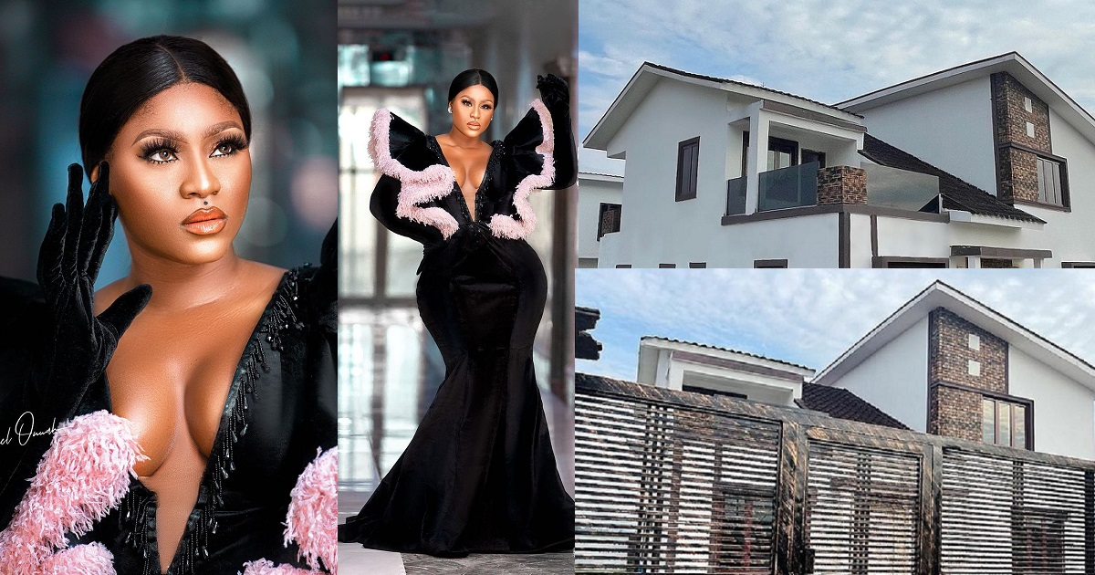 Actress Destiny Etiko Gifts Herself A Mansion In Enugu To Celebrate Her Birthday
