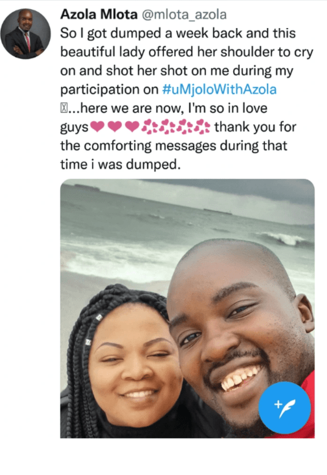Man Finds Love, Show Off New Girlfriend Less Than A Week After His Wife Dumped Him