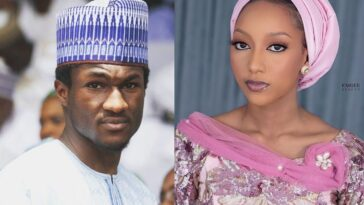 Buhari's Son, Yusuf Release His Wedding Invitation Card With Princess Zahra Bayero