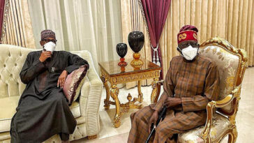 Tinubu Says President Buhari's Visit To Him In London Shows He's A Caring Leader