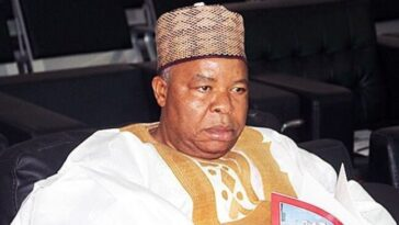 Former Deputy Senate President, Ibrahim Mantu Dies In Isolation At Abuja Hospital