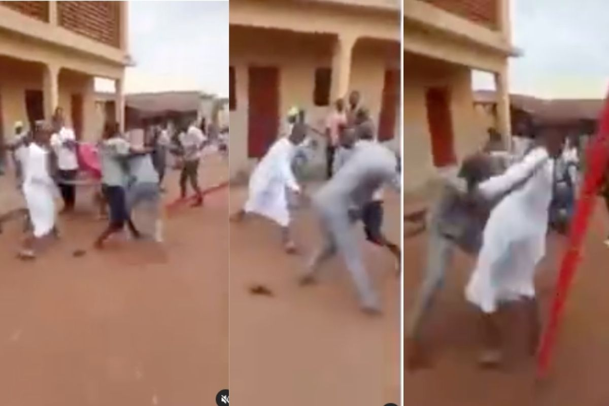 Soldier's Sons Beat Up KEDC Staff Who Tried To Disconnect Their Electricity In Kaduna [Video]